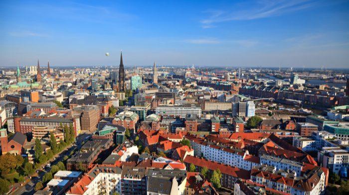 Im Zentrum Hamburgs ist das Wohnen besonders teuer. © Shutterstock, S.Borisov