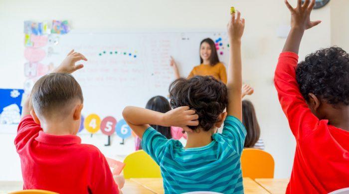 Im Kindergarten lernen die Kinder viel fürs Leben. © Shutterstock, weedezign