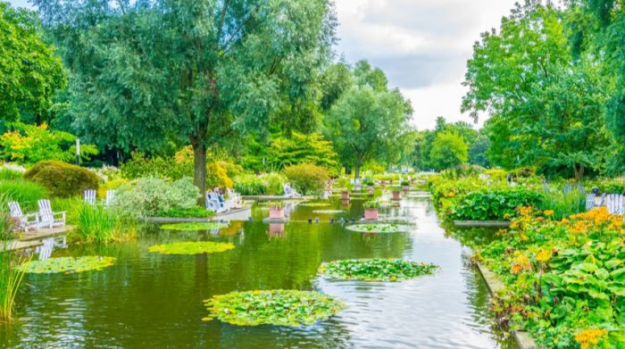 Ein Stück Natur mitten in Hamburg: Planten un Blomen. © Shutterstock, trabantos
